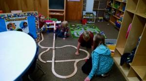 building trains